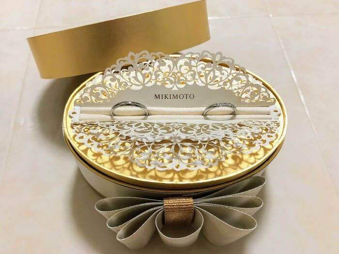 MIKIMOTO結婚指輪