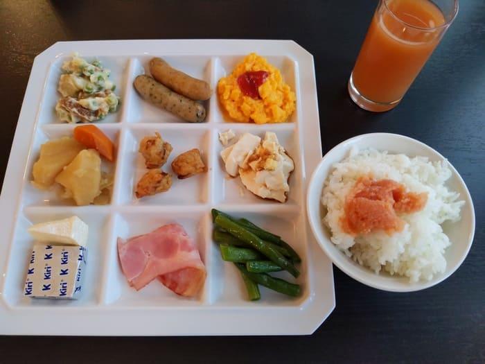 ウォーターマークホテル長崎朝食