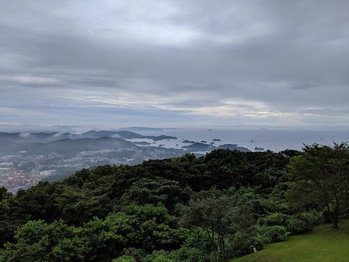 弓張の丘ホテル眺望