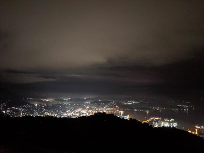 弓張の丘ホテル夜景