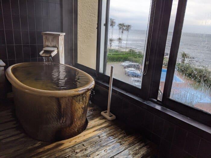 中屋 露天風呂付客室