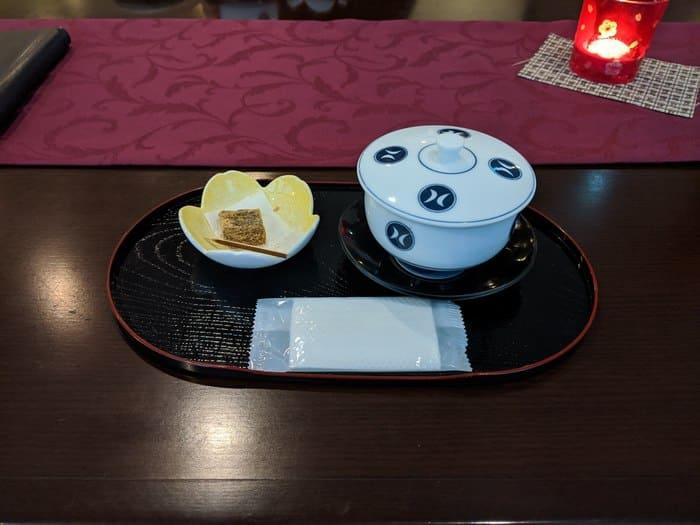 中屋 お茶菓子