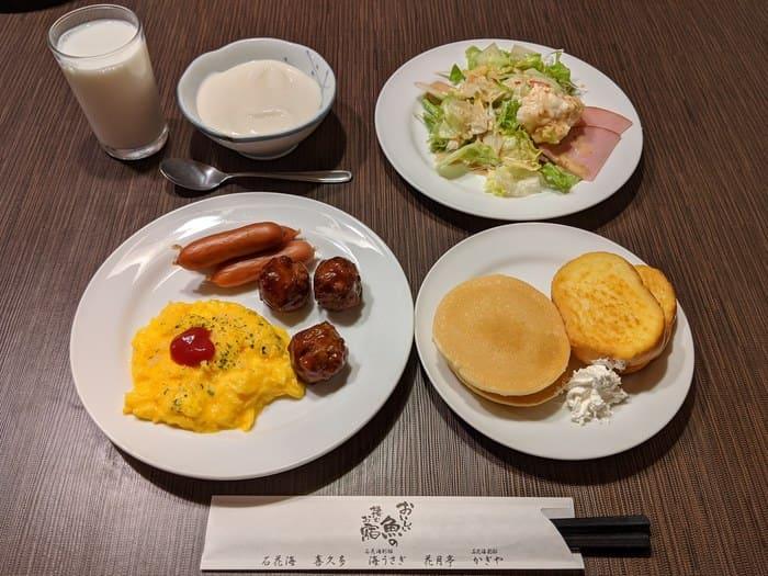 海うさぎ 朝食